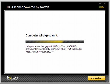 Anleitung DE-Cleaner powered by Symantec – Version 1.7.0.3