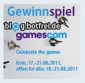 Die Gewinner des Gamescom Gewinnspiels 2011 stehen fest!