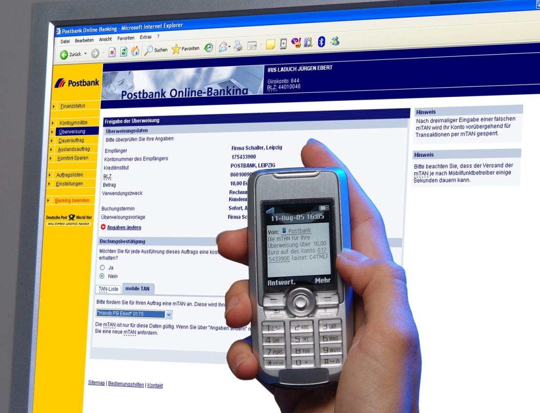 Onlinebanking: Das mobile TAN-Verfahren