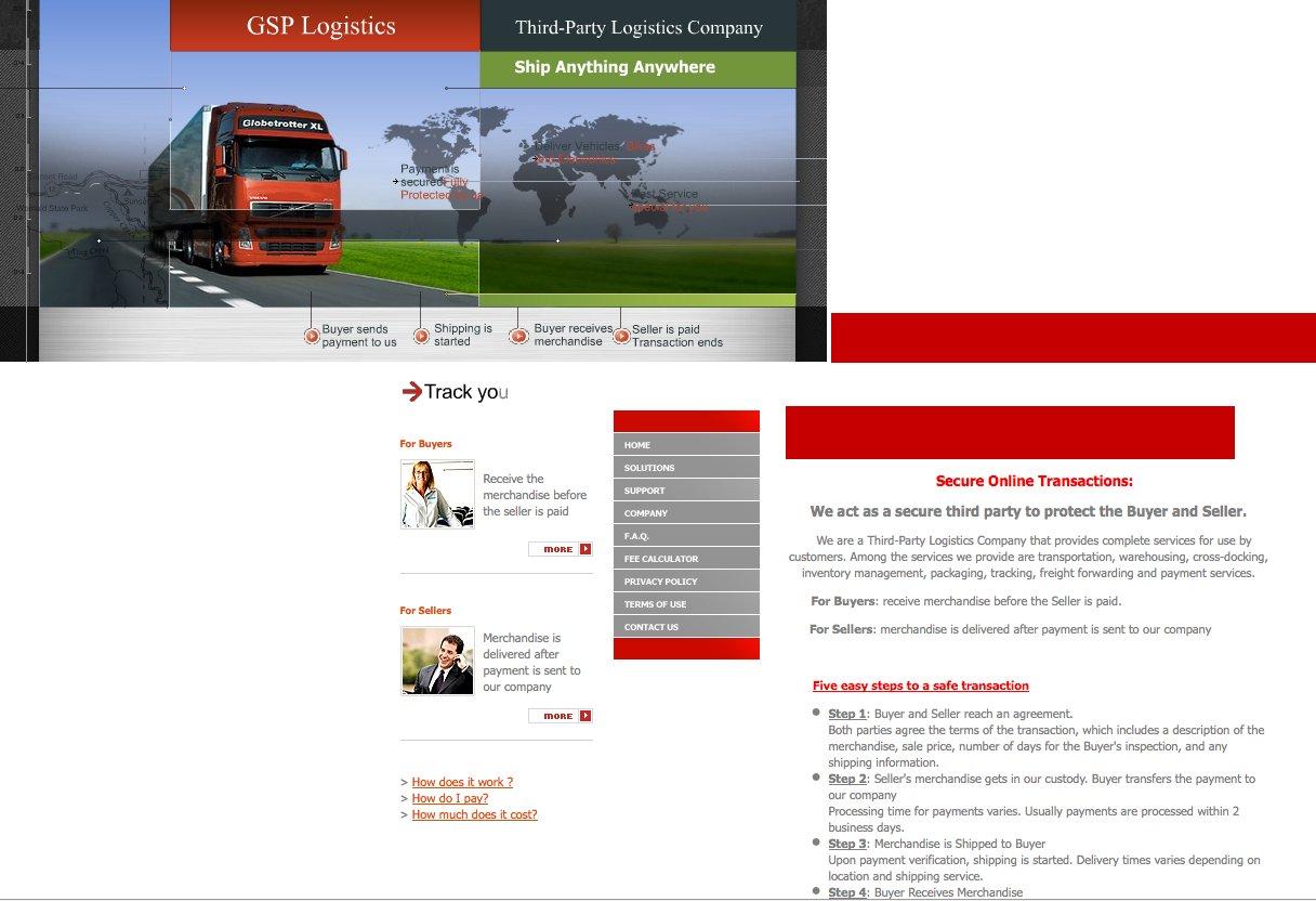 Fake Banken und fake Escrow Webseiten