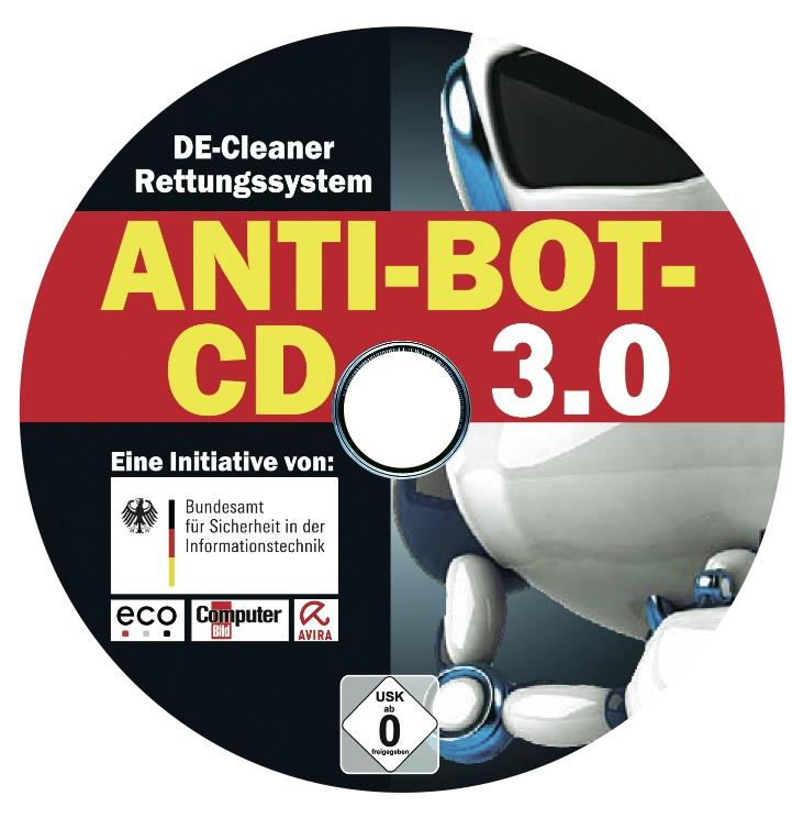 Anti-Bot CD v3.0 jetzt auch zum Download