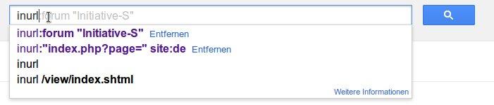 Google Suche