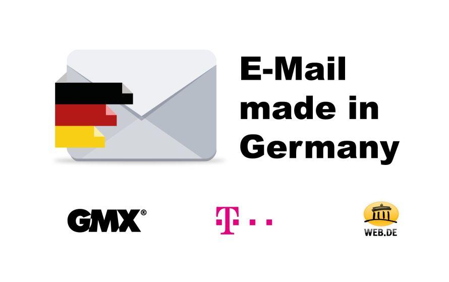 Deutsche Anbeiter platzieren «E-Mail made in Germany»-Angebote!