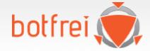 Mehr Sicherheit mit aktiver Überprüfung des Browsers auf den Seiten von Botfrei!