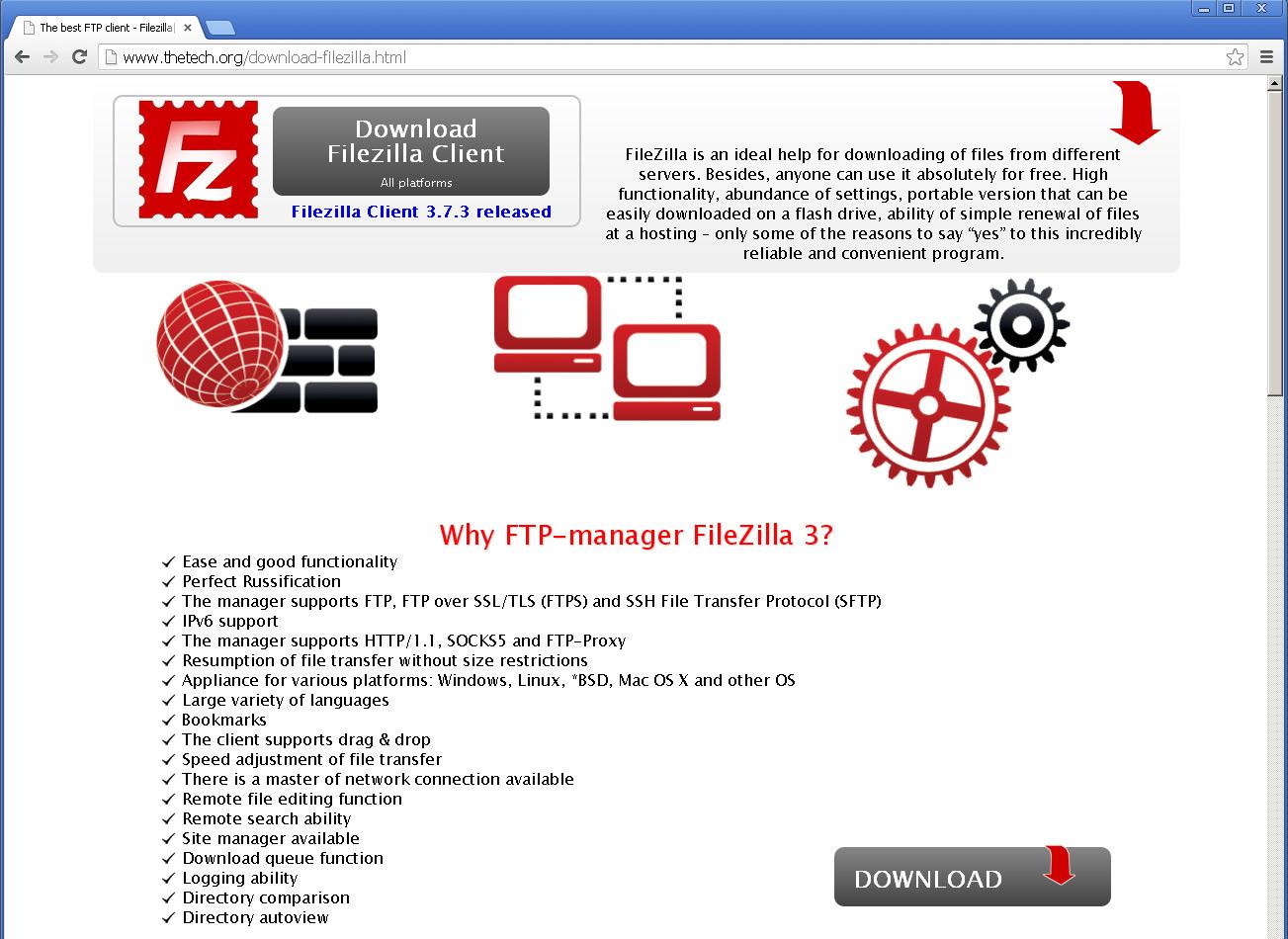 Gefälschte Filezilla-Clients im Umlauf – so erkennen Sie ihn!