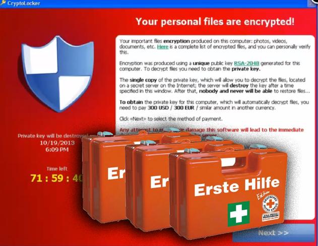 Schlag gegen Botnetz und erste Hilfe für den Cryptolocker