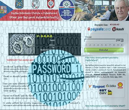 Ransomware mit leistungsfähigen Password Stealer
