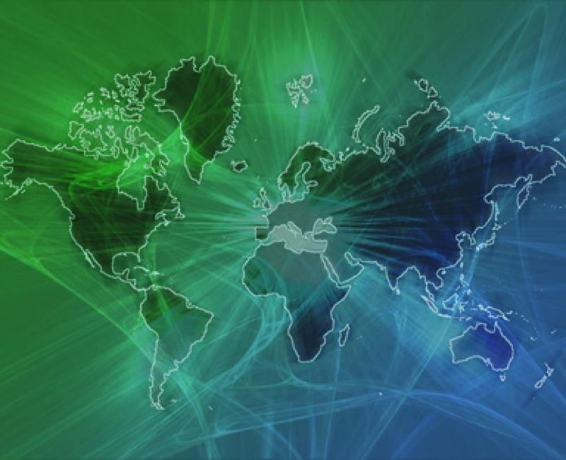 Animierte Karte im Internet visualisiert den Hackerkrieg in Echtzeit
