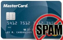 Gut gemacht – MasterCard Spam