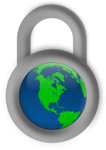 Quelle: https://openclipart.org/detail/66757/secure-about-the-world