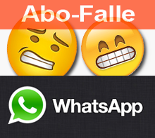 Animierte Emojis in WhatsApp führen in Abo-Falle