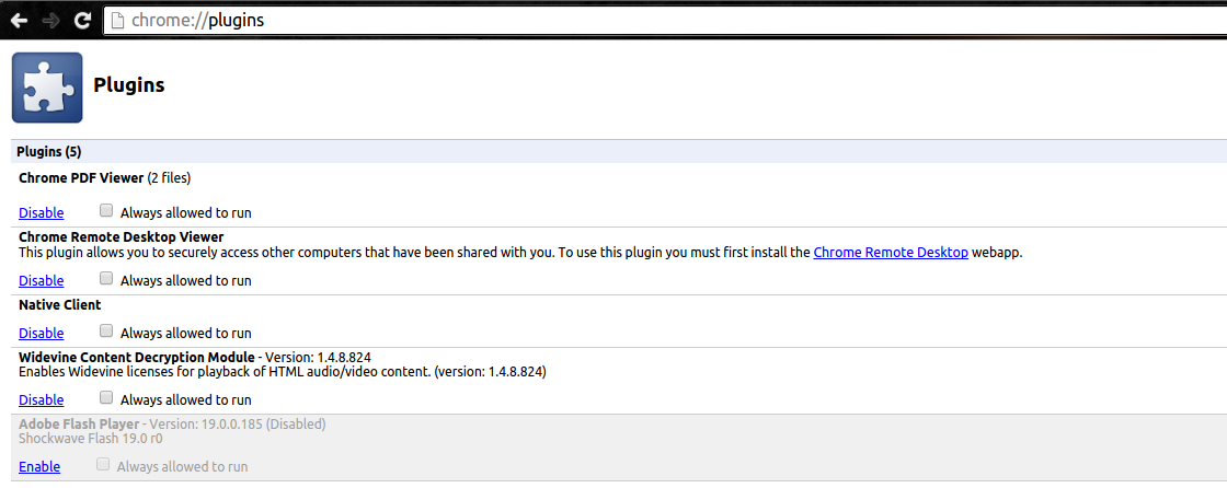 google chrome flash player aktivieren