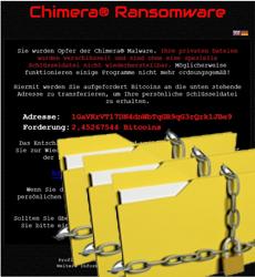Chimera Ransomware mit Fokus auf Firmenrechner