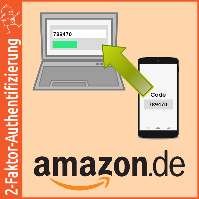 2-Faktor-Authentifizierung: Amazon per App