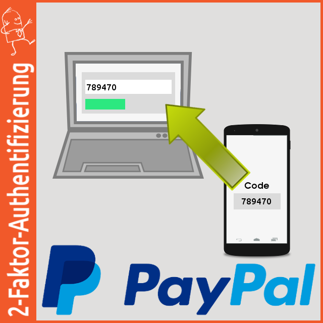 2-Faktor-Authentifizierung: PayPal