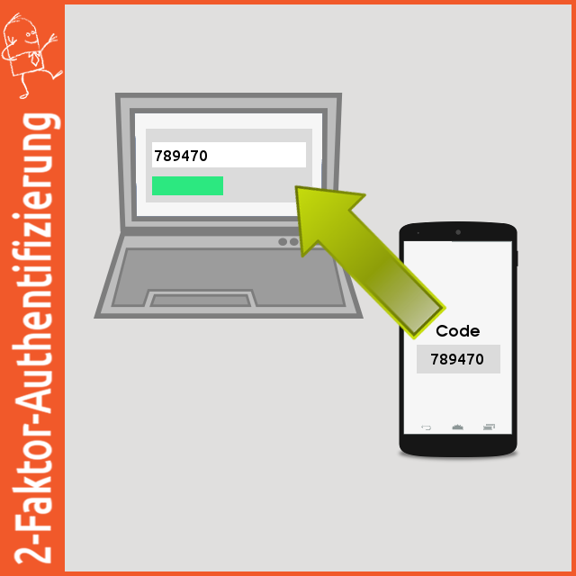 2-Faktor-Authentifizierung: Google, und Microsoft Authenticator