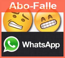 WhatsApp – Nachricht führt in Abo-Falle