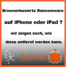 Ransomware auf iPad und iPhone entfernen
