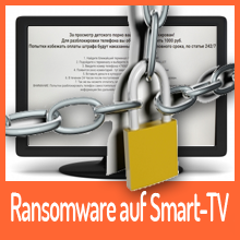Ransomware Flocker übernimmt Smart TV