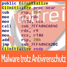 Malware trotz Antivirenschutz?
