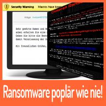 Ransomware populär wie nie!