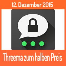 Threema – am 12.12.2015 zum halben Preis
