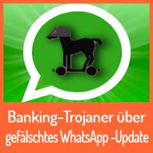 Malware sendet gefälschte WhatsApp-Nachricht