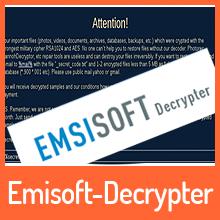 Emsisoft – Entschlüsselungs-Tool für die Lechiffre Ransomware