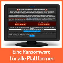 JavaScript Ransomware für alle Plattformen möglich
