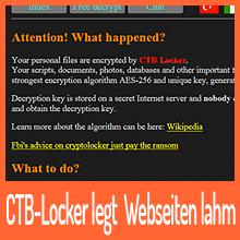 Ransomware CTB-Locker infiziert Webserver