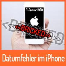 Datumfehler wird iPhone zum Vergängnis
