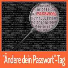 """Heute ist der """"Ändere dein Passwort-Tag"""""""