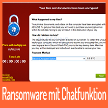 PadCrypt Ransomware mit Live-Support-Chat