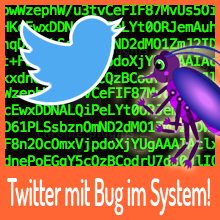 Twitter – Fehler in der Passwort-Recovery-Funktion