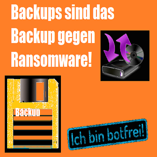Backups sind das Backup gegen Ransomware