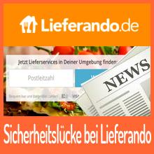 Lieferando – Angreifer übernehmen Kundenkonten