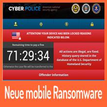 Ransomware – Exploit-Kit hat es auf Android-Geräte abgesehen.