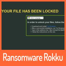 Ransomware Rokku mit eigener Charakteristik