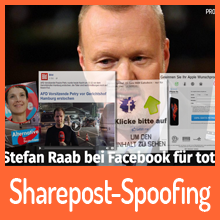 Sharepost-Spoofing: Beitragsmanipulation bei Facebook