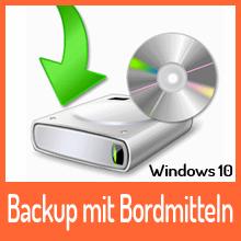 Windows 10 – Backup mit Bordmitteln – zusammengefasst