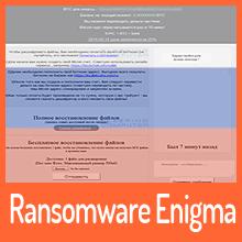 Enigma Ransomware mit Fokus auf russischen Raum