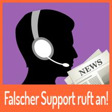 Falscher Microsoft-Mitarbeiter ruft an!