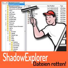 Schattenkopien – Rettung für überschriebene Dateien