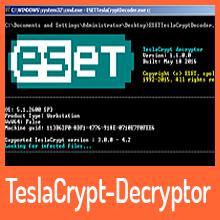 """ESET veröffentlicht Decryptor für """"unknackbaren"""" TeslaCrypt"""