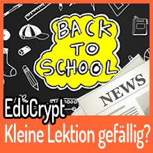 EduCrypt – Kleine Lektion gefällig?
