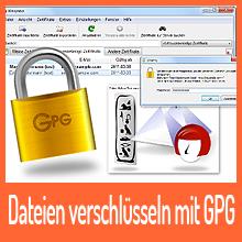 Dateien verschlüsseln mit GPG