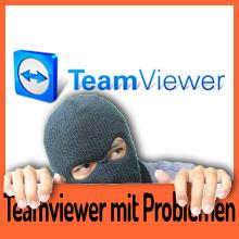 TeamViewer Software kämpft mit Problemen