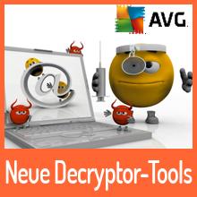 Ransomware – AVG veröffentlicht sechs kostenfreie Entschlüsselungs-Tools