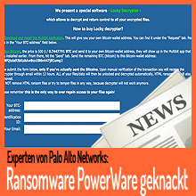 Ransomware PowerWare – kostenloser Decrypter!